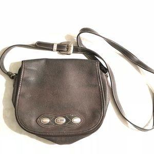 Vintage Brown Guess shoulder bag.